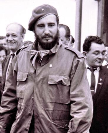 Fidel Castro, comandante-em-chefe da Revolução de 1959 e ditador de Cuba*