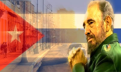 Fidel Castro - Líder do Estado cubano