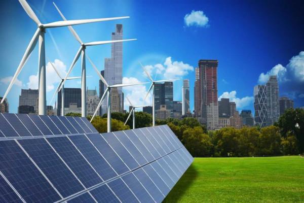 Fontes alternativas de energia, como as representadas na imagem, são uma possibilidade de energia limpa e de baixo impacto ambiental negativo.