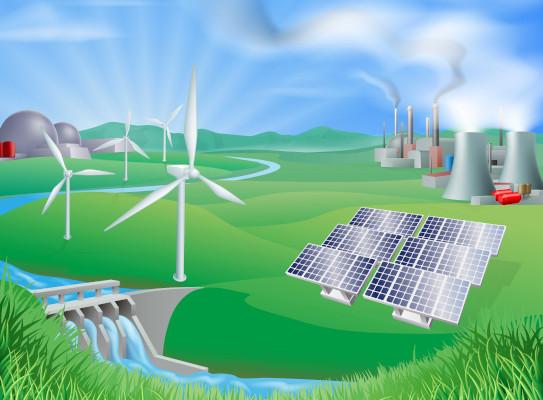 Fontes de energia são recursos naturais ou artificiais que possibilitam a produção de energia.