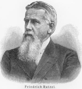 Friedrich Ratzel, um dos fundadores da Geografia moderna