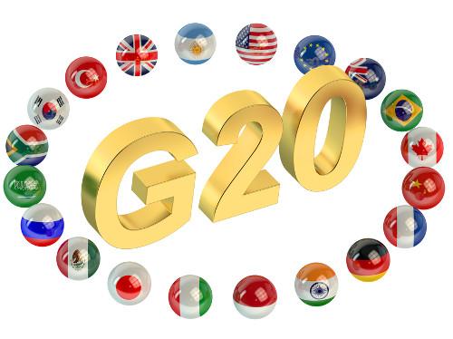 G20 é formado por 19 países mais a União Europeia