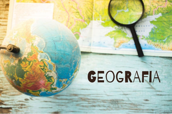 A Geografia compreende estudos a respeito das relações estabelecidas entre o homem e o meio.