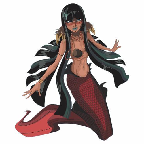 Iara, a sereia do rio Amazonas