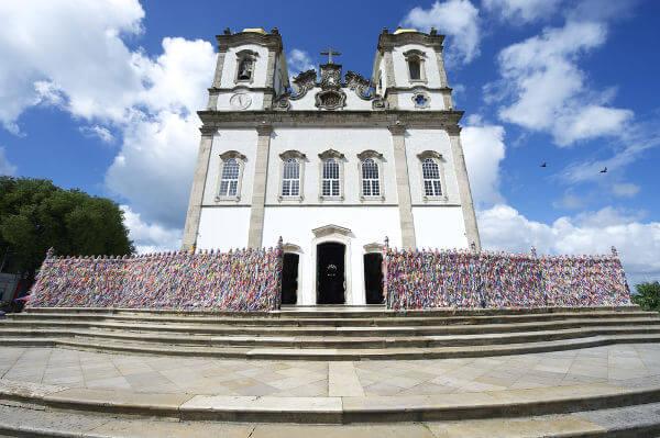 A Igreja do Bonfim foi construída no século XVIII quando a imagem do Senhor do Bonfim foi trazida para Salvador.