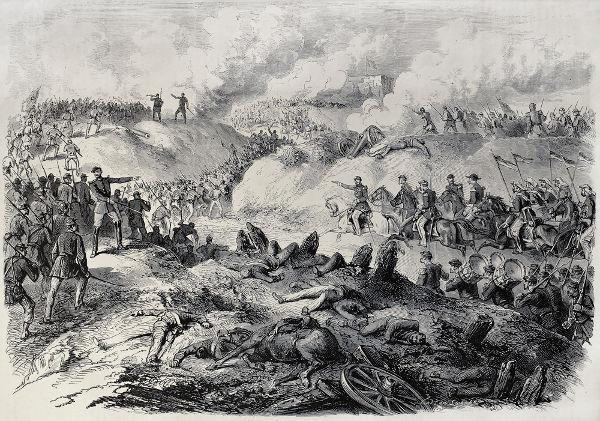 Ilustração de 1868 retrata os cenários de batalha durante a Guerra do Paraguai