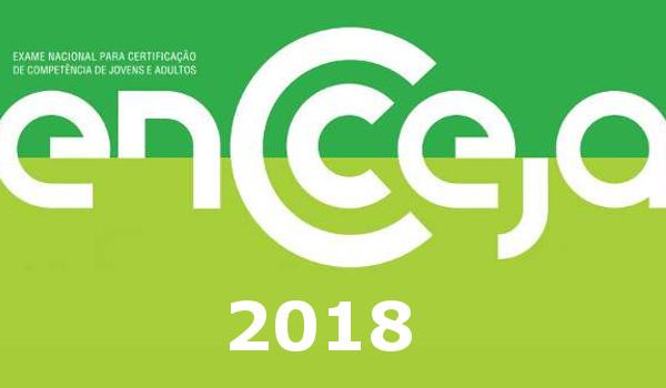 Provas do Encceja 2018 serão realizadas dia 5 de agosto