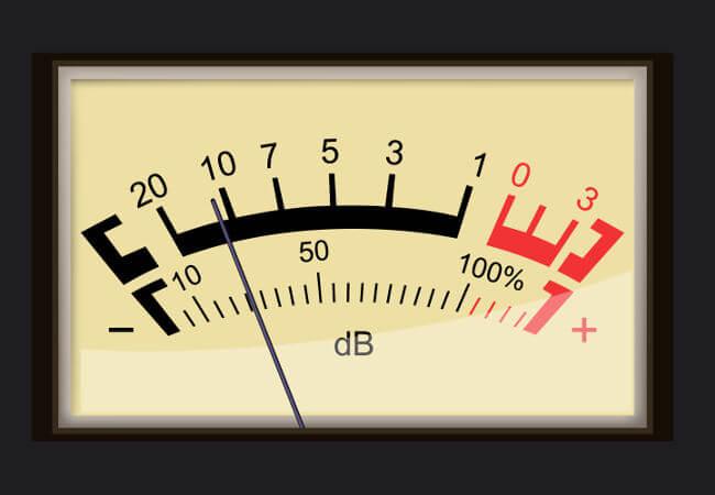 O nível de intensidade sonora é medida em decibéis.