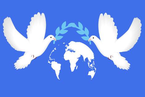 Já no primeiro dia do ano comemora-se o Dia Mundial da Paz