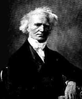 Jacques Philippe Marie Binet, responsável pelo teorema de Binet