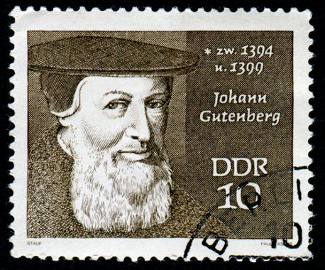 Johann Gutenberg, o inventor da imprensa *