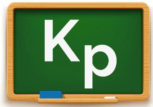 Kp é a sigla que representa a constante do equilíbrio