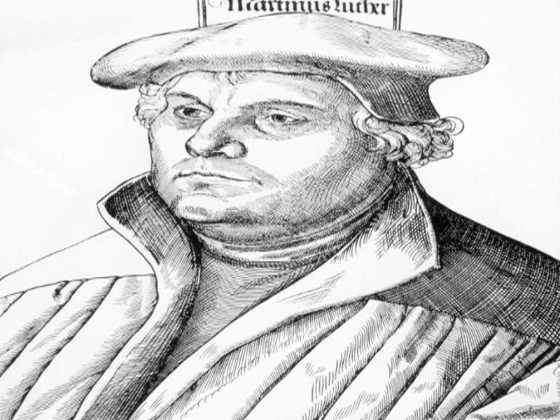 Martinho Lutero iniciou o movimento que resultou na origem do protestantismo