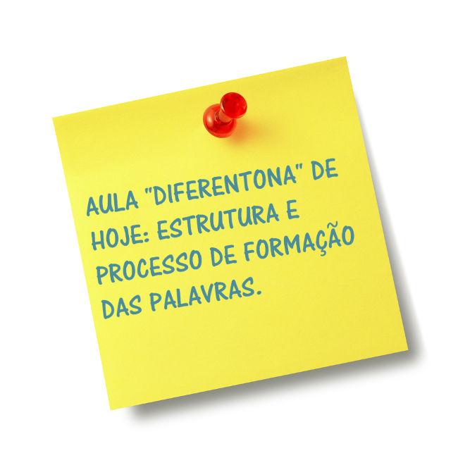 Linguística aplicada e a formação das palavras é uma das combinações perfeitas para o ensino de Língua Portuguesa