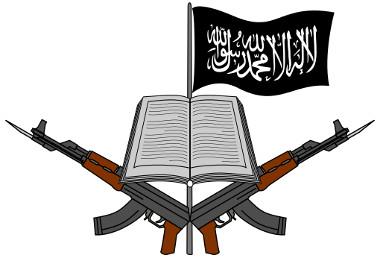 Logomarca do grupo terrorista Boko Haram*