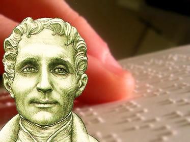 Louis Braille concebeu um sistema que facilitou a vida dos deficientes visuais
