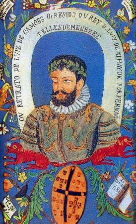 Luís de Camões é o principal nome da literatura portuguesa da época do Renascimento