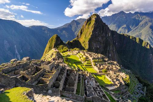 Machu Picchu é atualmente um dos grandes símbolos da civilização inca