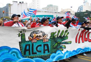 Manifestação contra a criação da Alca