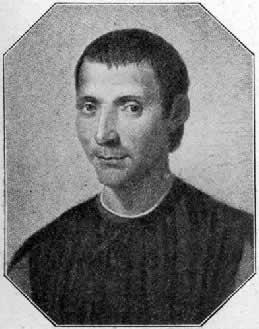 Maquiavel, com base em seu pensamento político, percebeu que as formas de governo se dão de forma cíclica