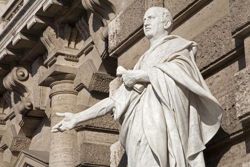 Marco Túlio Cícero, cônsul e grande orador romano