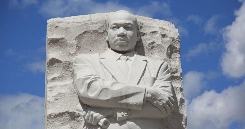 Martin Luther King Jr. foi um símbolo da luta pelos direitos civis dos negros nos EUA