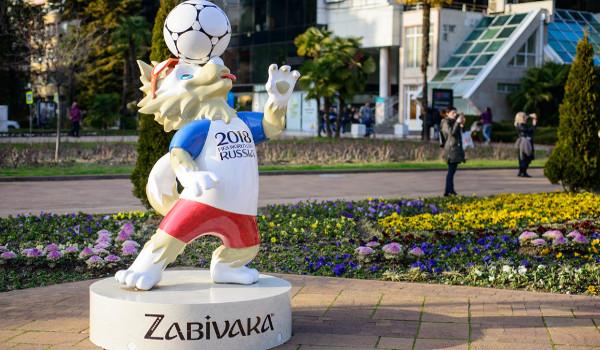 Mascote da Copa de 2018 é um lobo siberiano*