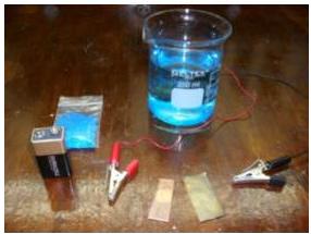 Materiais e reagente necessários para a realização desse experimento.