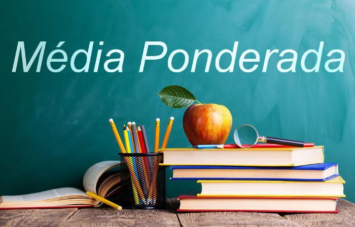Média ponderada: considera o grau de importância de cada informação de uma lista