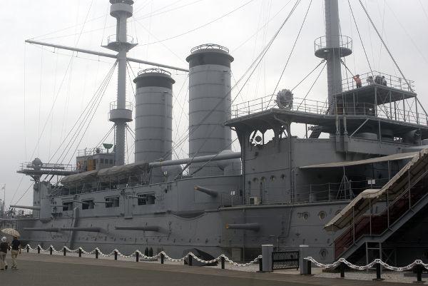 Mikasa, encouraçado japonês que lutou na Guerra russo-japonesa *