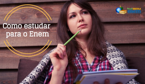 Montar um cronograma de estudos facilita a rotina de preparação para o Enem 2018