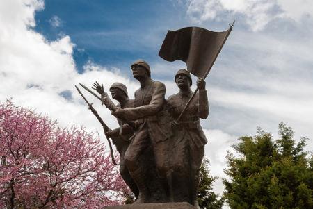 Monumento dedicado aos soldados turcos que lutaram na Primeira Guerra Mundial*