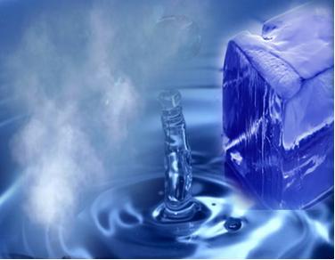 As mudanças de estado físico da água ocorrem em intervalos fixos de temperatura, que podem ser esboçados em gráficos.