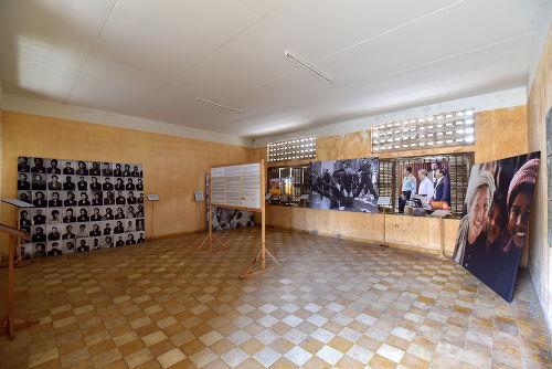 Museu em homenagem às vítimas do genocídio cambojano *