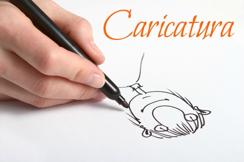 Na caricatura, as características físicas e comportamentais das pessoas são retratadas de forma exagerada