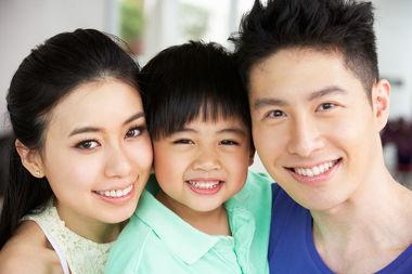 Na China, a política é a de apenas um filho por casal