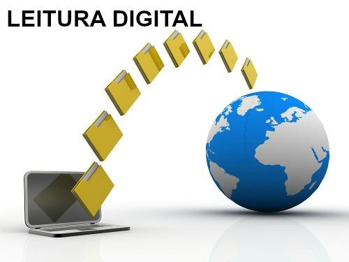 Na leitura digital, o conteúdo é compartilhado com diversos leitores ao mesmo tempo