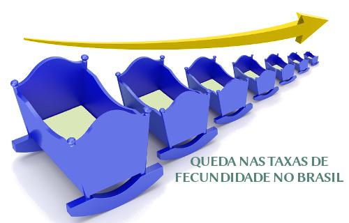 Nas últimas décadas, o Brasil tem experimentado uma expressiva queda na taxa de fecundidade