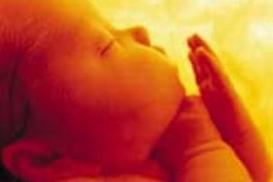 No 10º mês (lunar) de gestação, o bebê já está completamente formado, pronto para nascer.