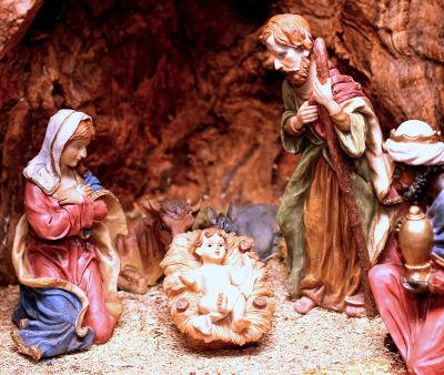 No dia 25 de dezembro, é comemorado o Natal, o nascimento de Jesus Cristo