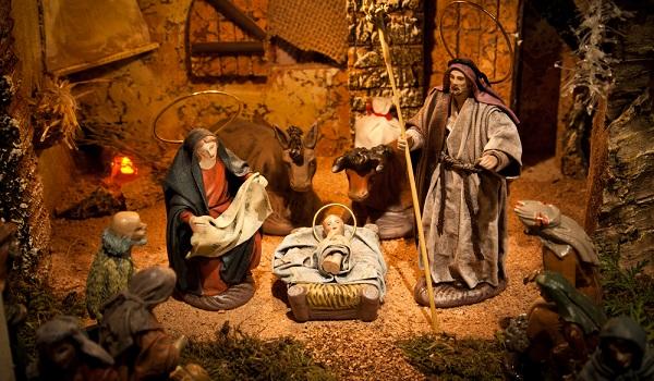 No dia de Natal, celebra-se o nascimento de Jesus Cristo