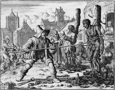 No século XVI, os anabatistas foram alvo de perseguição no Norte da Europa