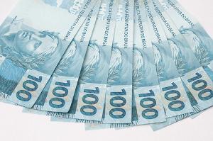 Notas de 100 reais