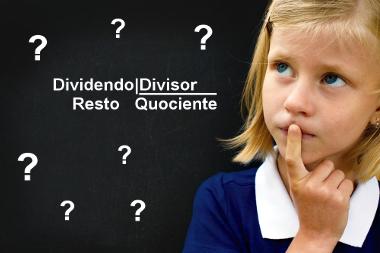 O algoritmo da divisão é composto por: dividendo, divisor, quociente e resto