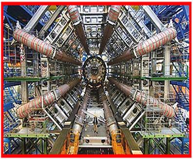 O Atlas é um dos detectores de partículas do LHC