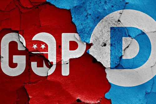 O bipartidarismo dá a tônica do cenário político nos Estados Unidos