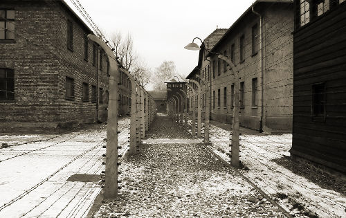 O campo de concentração de Auschwitz, na Polônia, foi o mais mortífero do nazismo