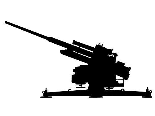 O canhão Flak foi a mais poderosa arma de ataque antiaéreo do exército nazista
