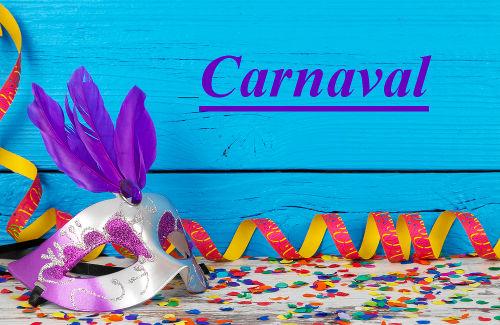 O Carnaval no Brasil e no Mundo.