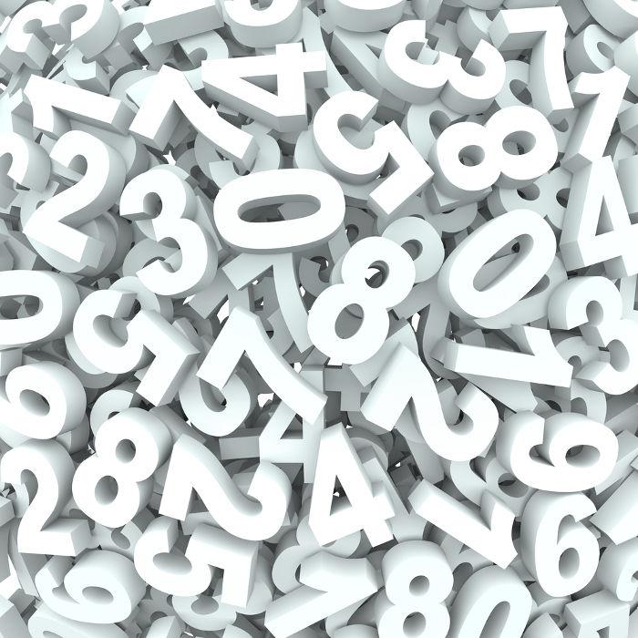 O conjunto dos números naturais é formado pelos números 0, 1, 2, 3, 4, 5, 6...
